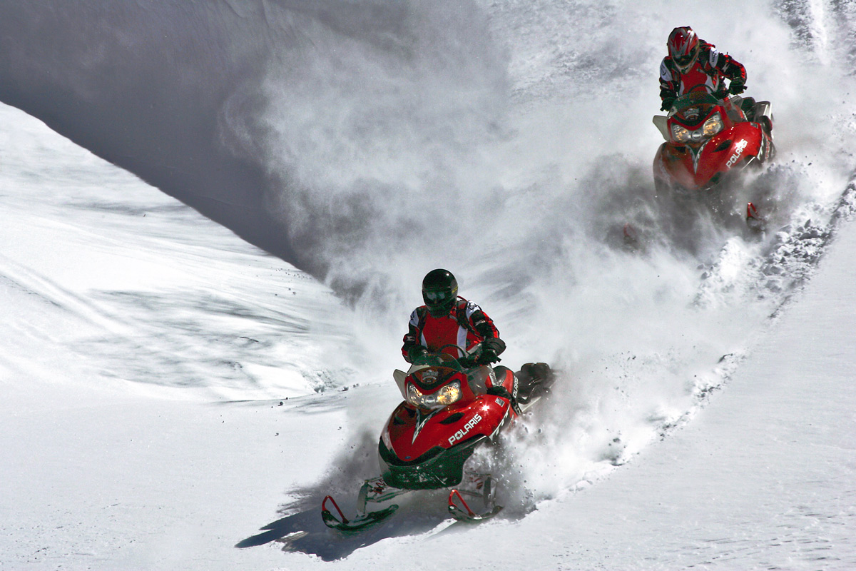 Action und Adventure Snowmobile