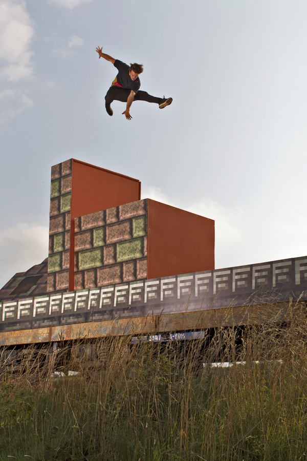 Action und Adventure Parkour