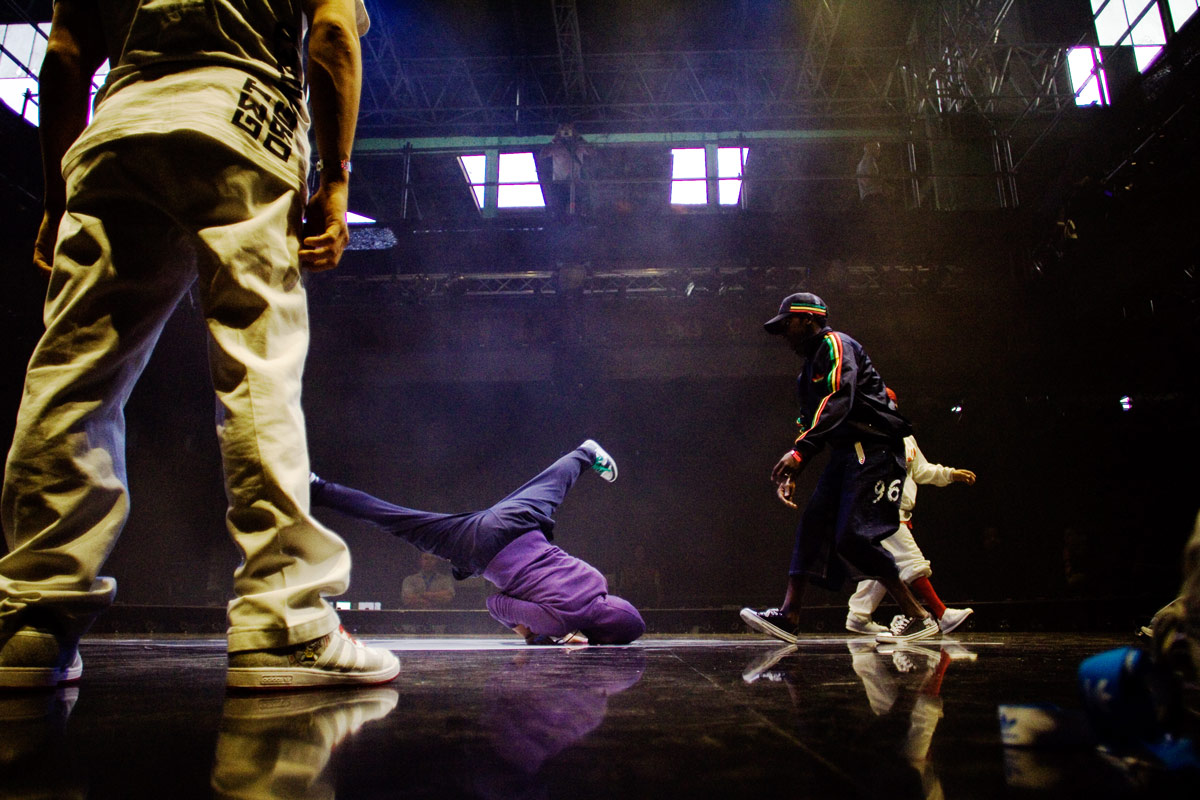 Action und Adventure Breakdance